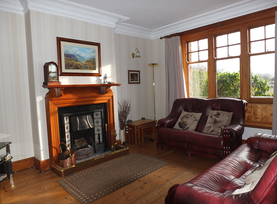 Living Room Holiday Cottage Eskdale, Lake District