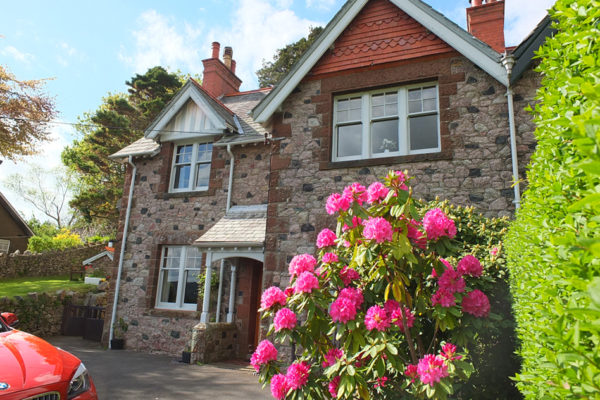 Front of Holiday Cottage Eskdale, Lake District