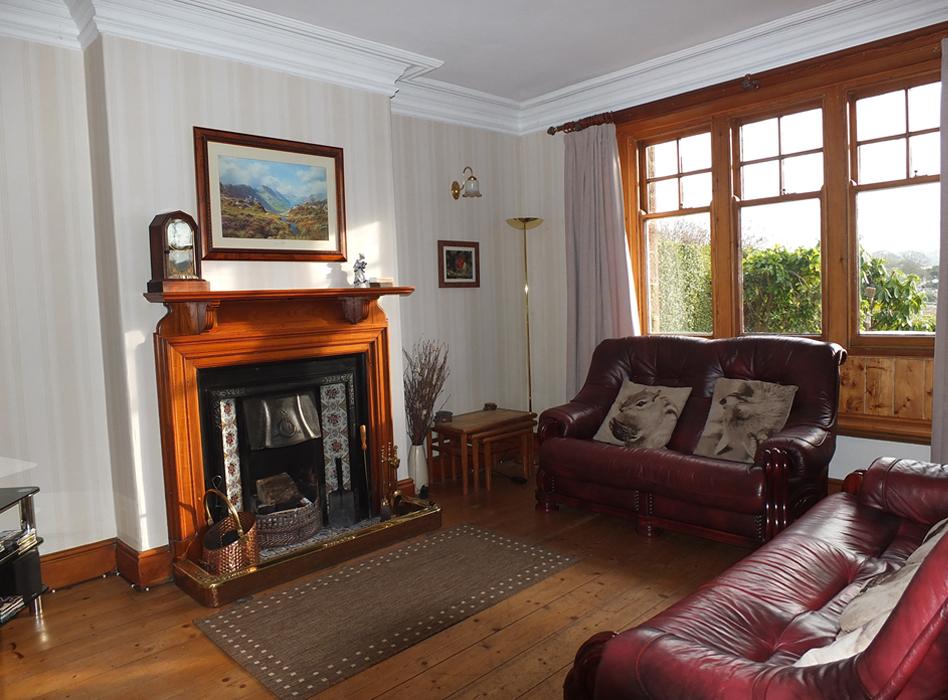 Living Room Holiday Cottage Eskdale, Lake District